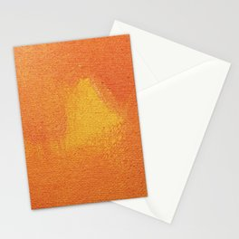 Painting on Canvas Stationery Cards