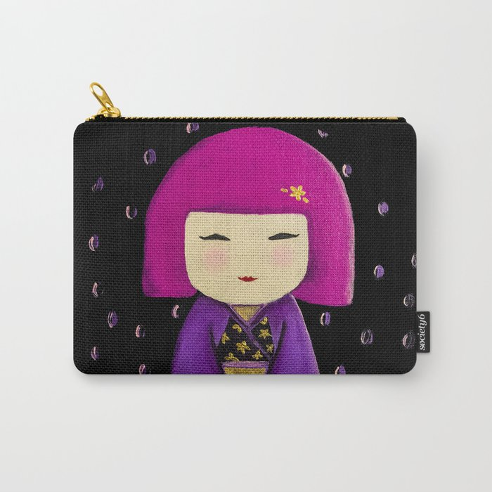 Pink Kimi Carry-All Pouch