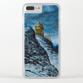 The Temple of Dionysus Clear iPhone Case