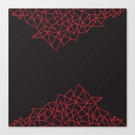 Geometric Pattern X Canvas Print