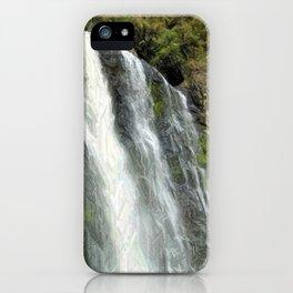 Hunua Falls, NZ iPhone Case