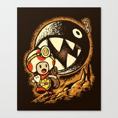 Raiders of the lost star Canvas Print