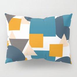 Geometric Mixture Pillow Sham