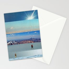 Collage - Into the Blue Stationery Cards