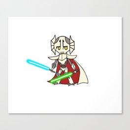 General Grievous kid artwork Canvas Print