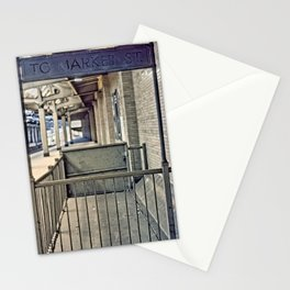 Train Station Exit Stationery Cards