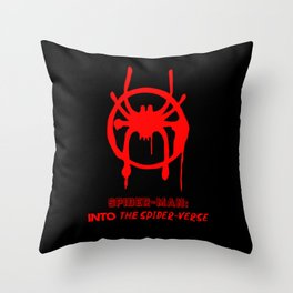 Into the Spider-Verse Throw Pillow