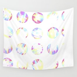 Pastell Dots Wall Tapestry