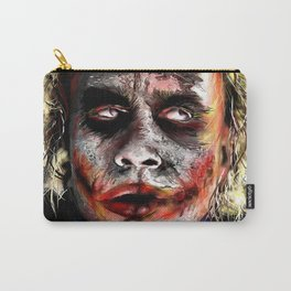 The Joker Painted Carry-All Pouch