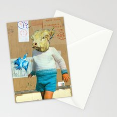 Young Minotaur Stationery Cards