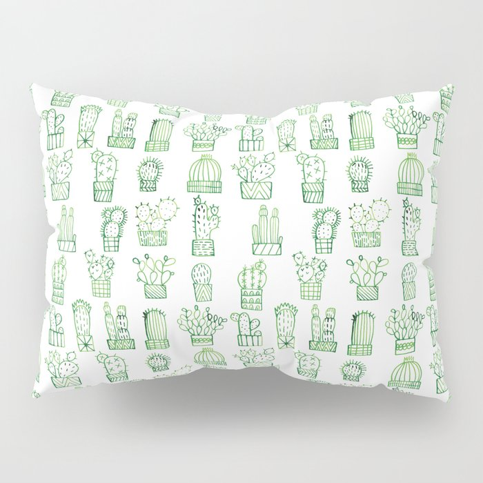Cacti Collection Pillow Sham