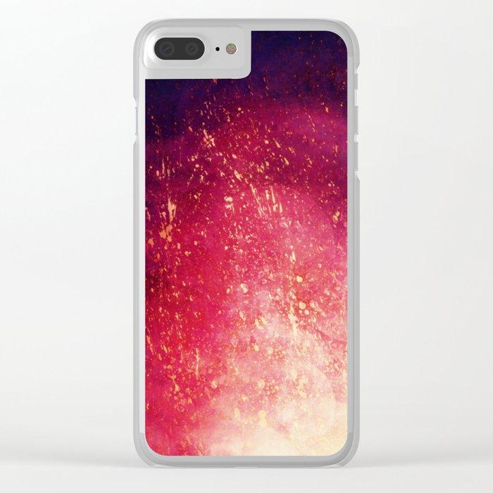 τ Scorpius Clear iPhone Case