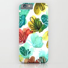 Abstract Watercolor iPhone 6s Slim Case