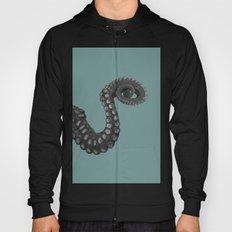 OCTOPUS - tentacle , arm , animal , single , one , spiral Hoody