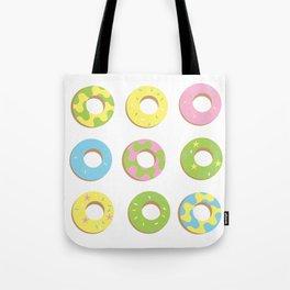 digital donuts Tote Bag