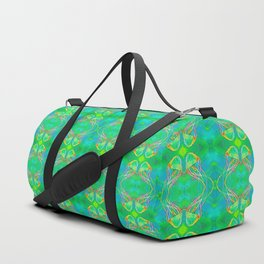 Green Jelly Duffle Bag