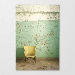 sit pretty with me Canvas Print