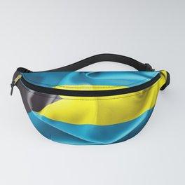 Bahamas Flag Fanny Pack
