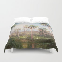 Heart of the Everglades Duvet Cover