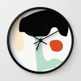 Matisse Shapes 1 Wall Clock