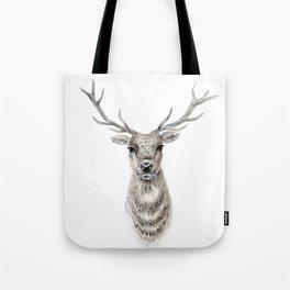 Proud Stag - Reindeer - Deer Tote Bag