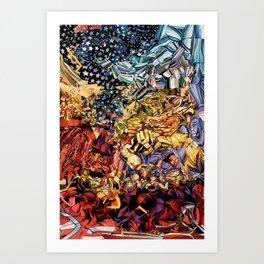 W0nder w0man  Art Print