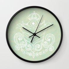 The Evil Eye Emblem  Wall Clock