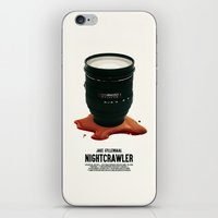 nightcrawler iPhone & iPod Skins featuring Nightcrawler by SG Posters