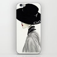 chic iPhone & iPod Skins featuring Chic by Tania Santos