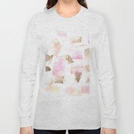 180515 Abstract Watercolour Wp 8   Watercolor Brush Strokes Long Sleeve T-shirt