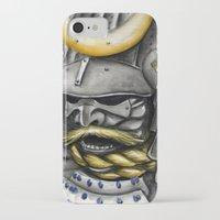 samurai iPhone & iPod Cases featuring Samurai by rchaem