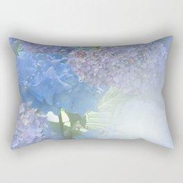 Hydrangeas Glow Rectangular Pillow