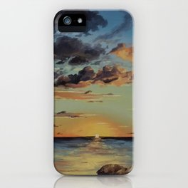 Sunset in the Florida Keys iPhone Case