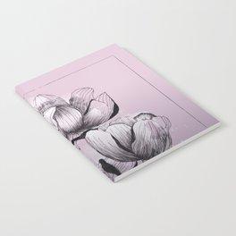 Purple bloom of Magnolia Notebook