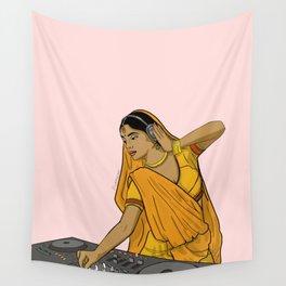 Dj Rani Wall Tapestry