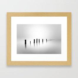 Sea Pillars IIIV Framed Art Print
