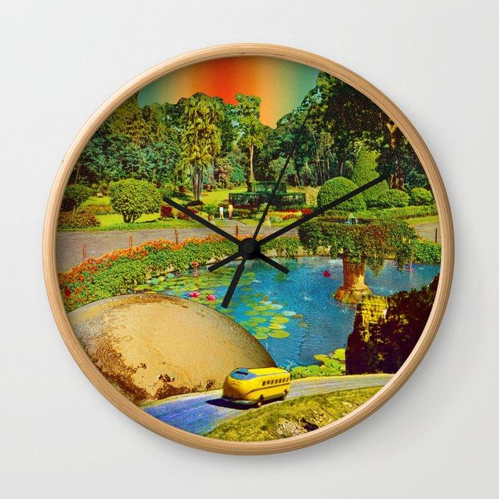 Gardens of Pluto Wall Clock