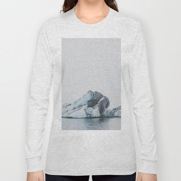 Jökulsárlón, Iceland Long Sleeve T-shirt