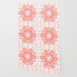 Hyper Brights Mandala Wallpaper