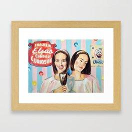 Bette and Dot  Framed Art Print