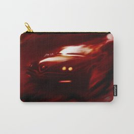 Flaming Alfa Gtv 916 Carry-All Pouch