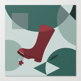 The Boot Canvas Print