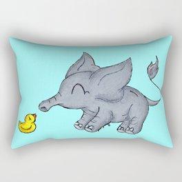 Ducky Buddy Rectangular Pillow