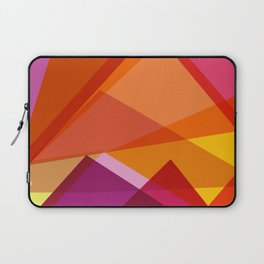 Abstract Color Blend Mountain Landscape Laptop Sleeve