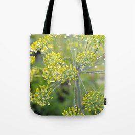 Dill in the garden I Tote Bag