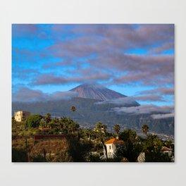 Volcano Teide on Tenerife Canvas Print