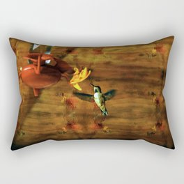 Hovering Hummingbird Rectangular Pillow