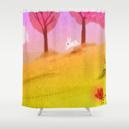 Spring Breeze Shower Curtain