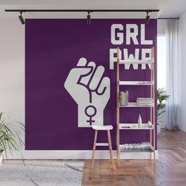 GRL PWR Fist Wall Mural