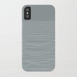 Unstable Lines iPhone Case